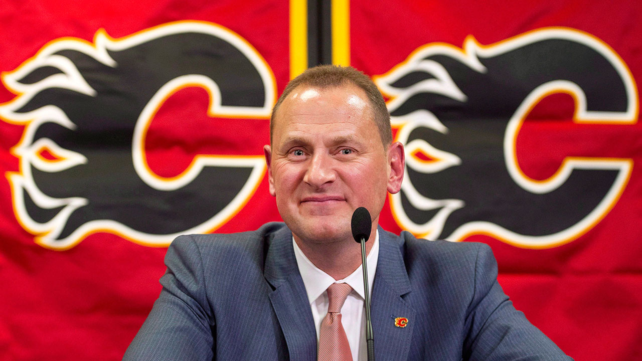 Flame-out. Treliving discusses Calgary's post-season fall, and what they're looking to change