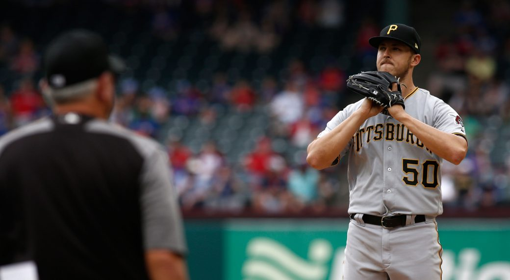Pirates place P Taillon on 10-day IL