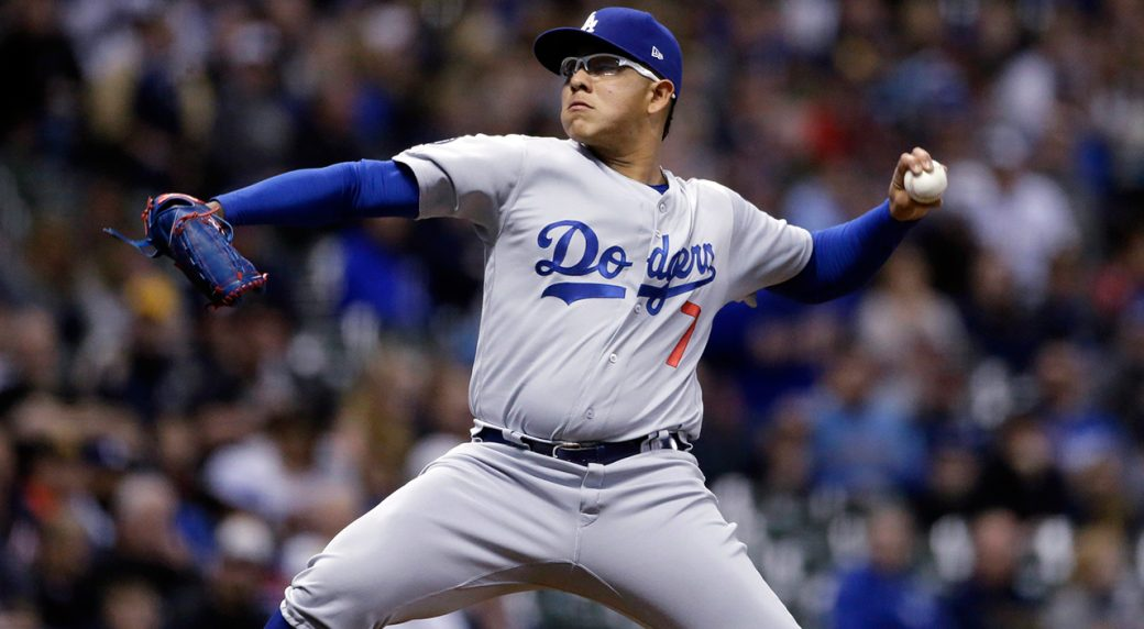 Dodgers' Julio Urías reinstated from administrative leave