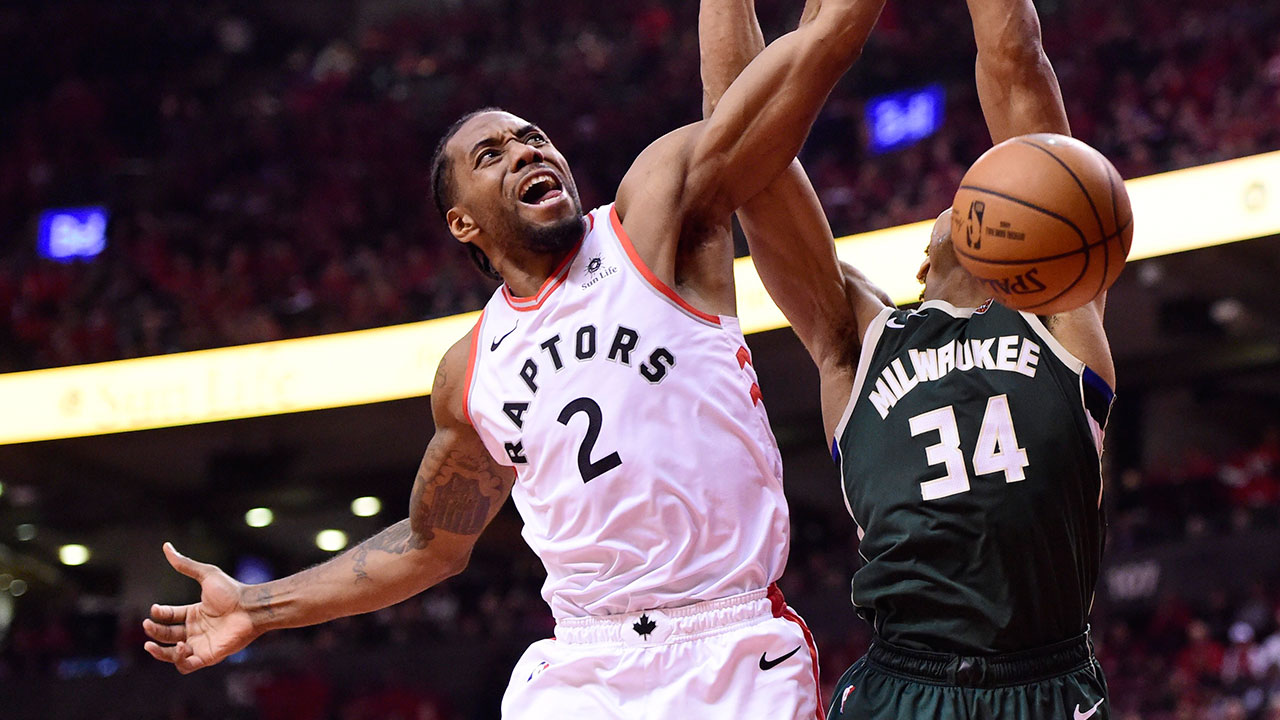 Raptors bail out weary Kawhi Leonard with complete Game 4 win