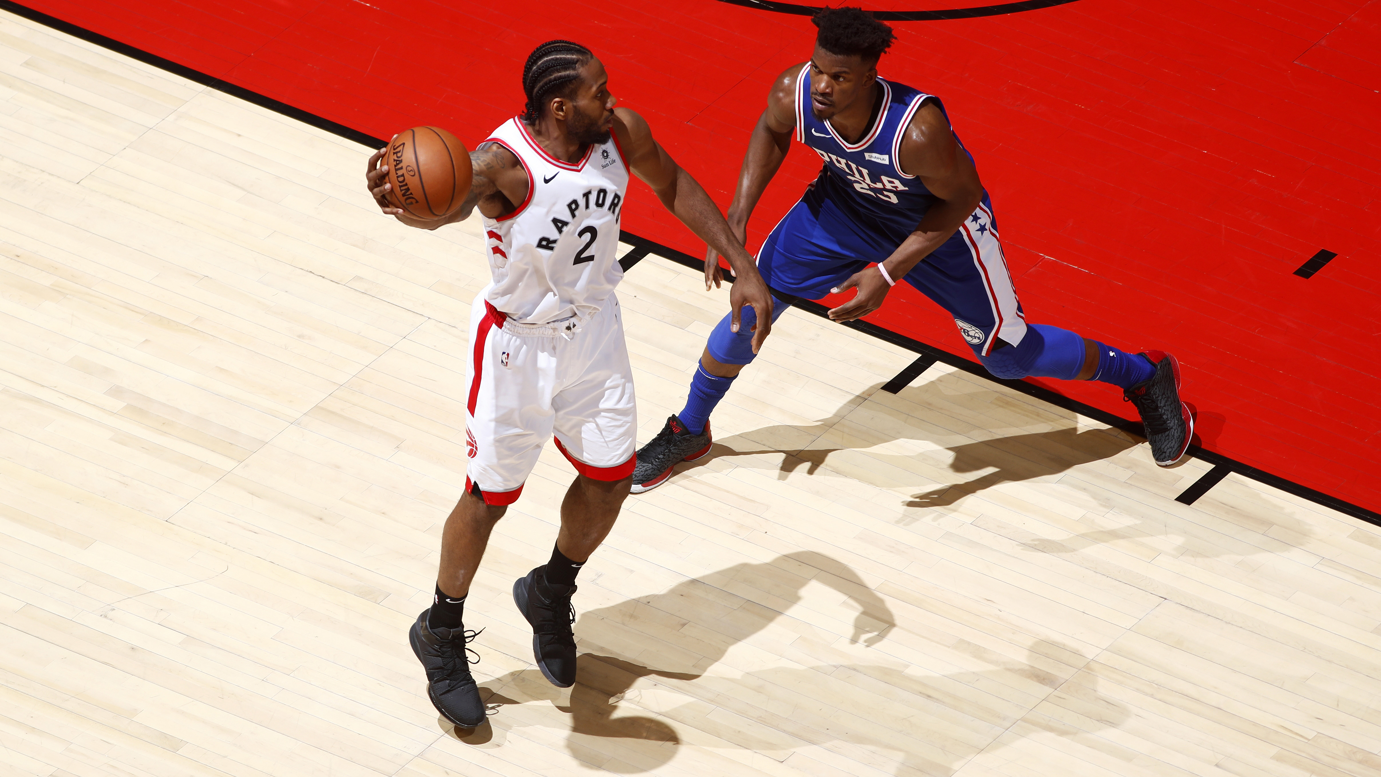online retailer a2528 575ee Kawhi making case as greatest playoff performer in Canada since Gretzky