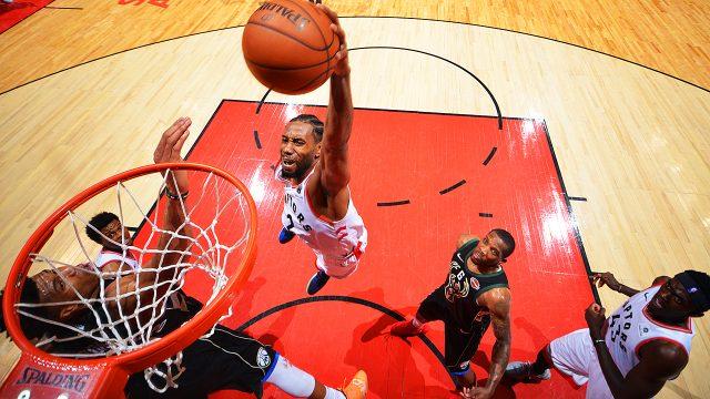 Kawhi-Leonard;-Toronto-Raptors;-NBA-Playoffs