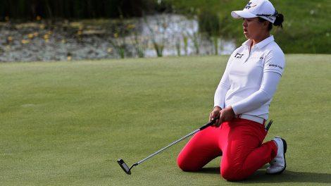 LPGA-Kim-hits-shot-at-tournament