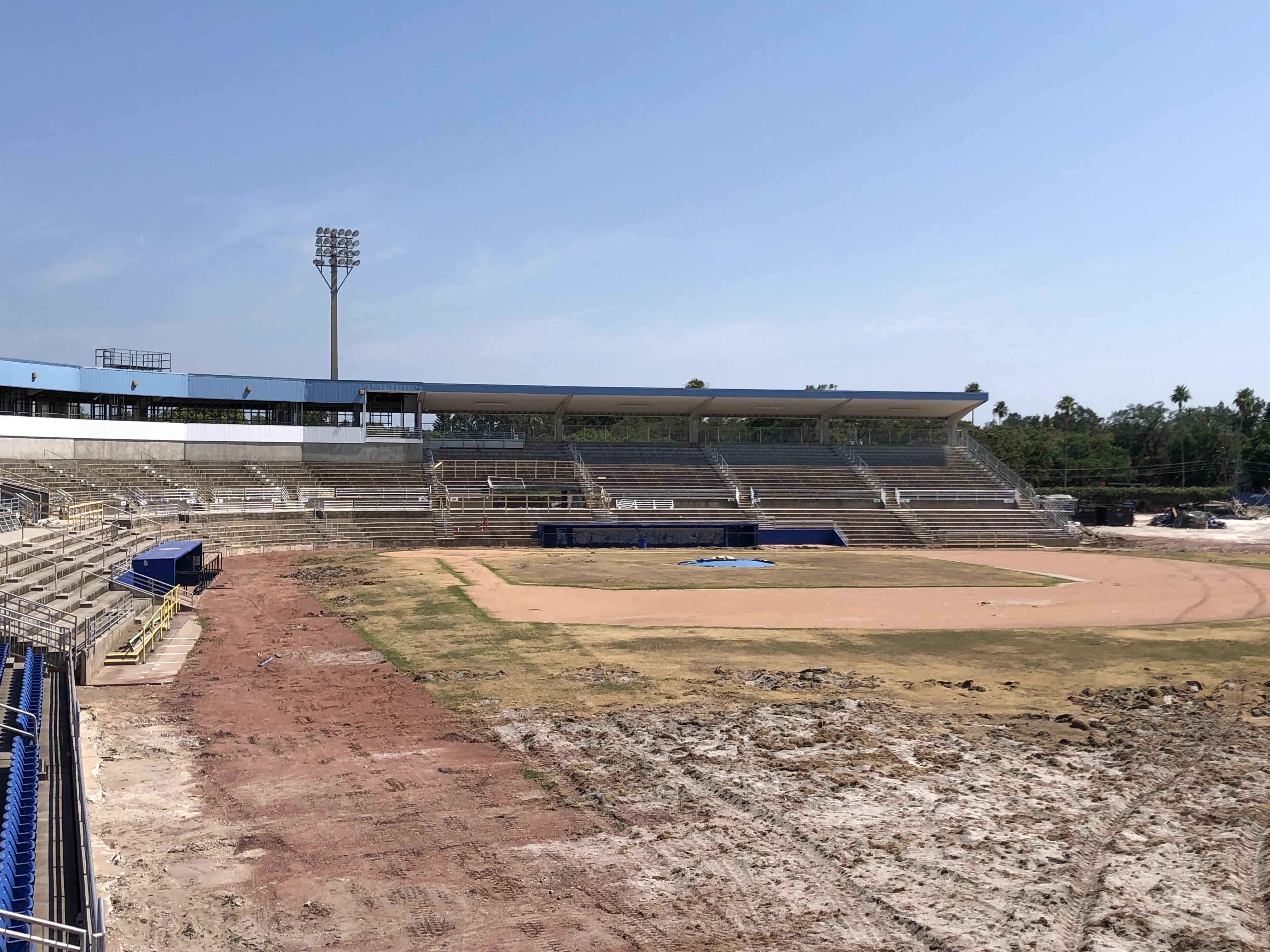 Photo Gallery First Look At Blue Jays Dunedin Stadium Renovations Sportsnet Ca