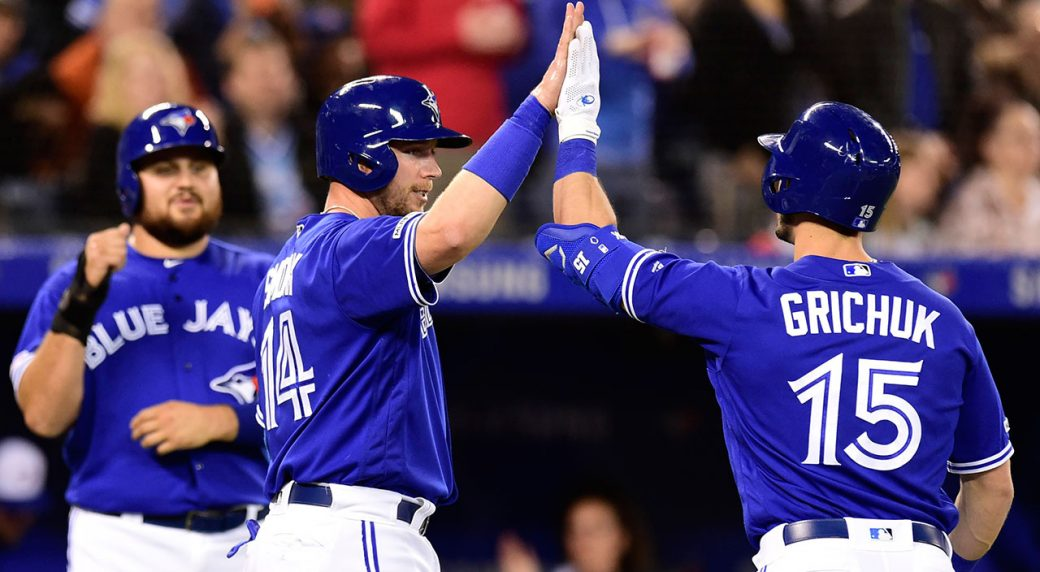 MLB-Blue-Jays-Grichuk-celebrates-after-home-run