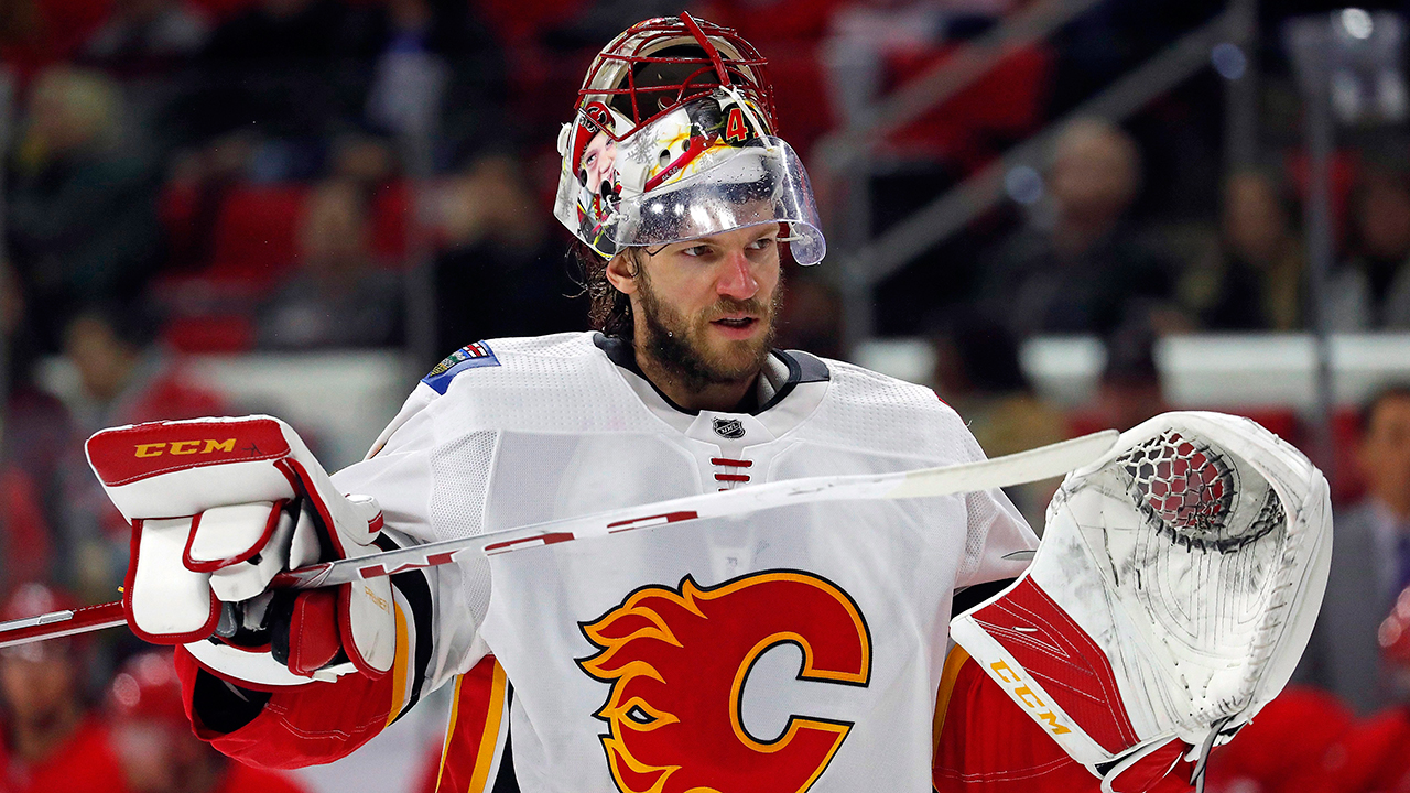 Sorting out Flames goaltending should be Brad Treliving's top priority