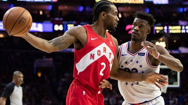 NBA-Raptors-Leonard-fends-off-76ers-Butler