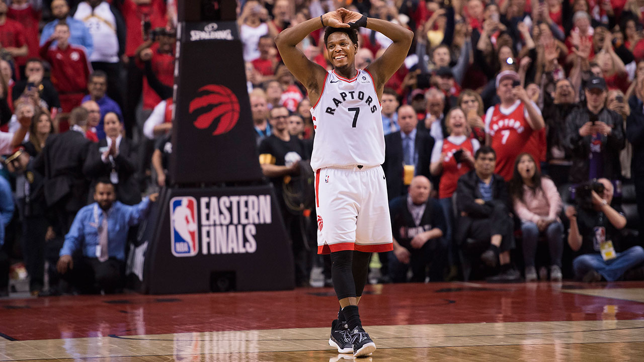 NBA-Raptors-Lowry-reacts-after-Game-6-of-East-Finals