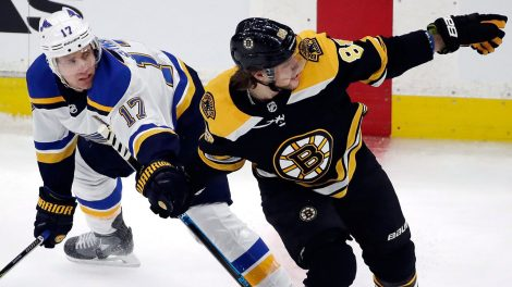 NHL-Blues-Schwartz-skates-against-Bruins