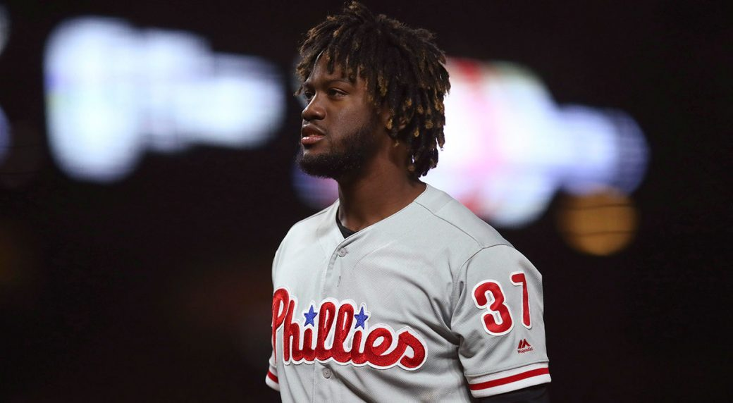Odubel Herrera arrested on domestic violence charge, placed on leave by Major League Baseball