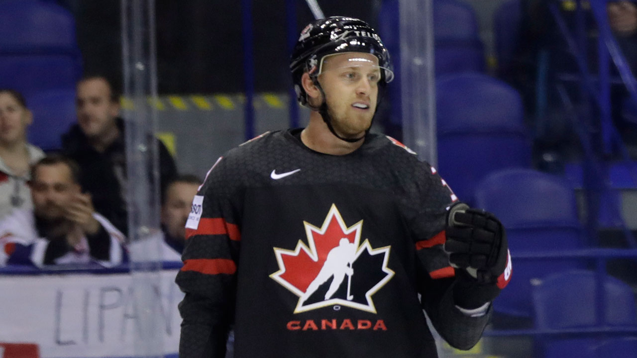 Given no quarter. Canada's leading scorer to be a Swiss miss at worlds