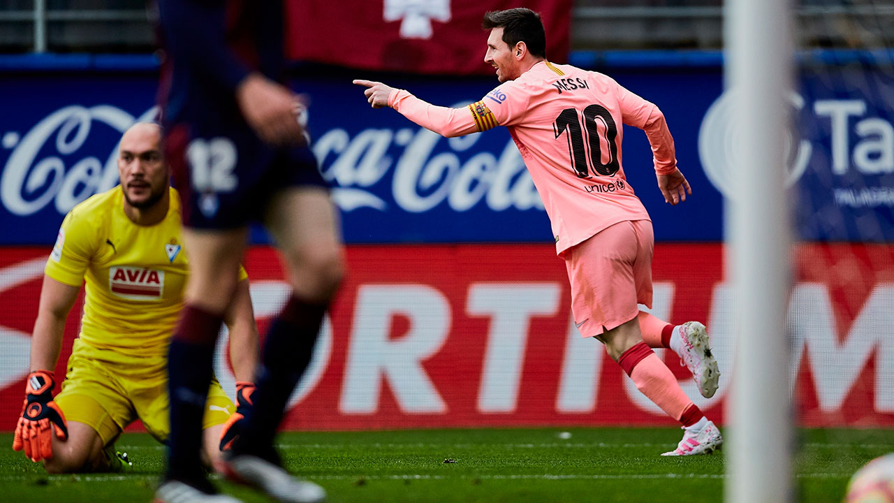 Image result for eibar vs barca