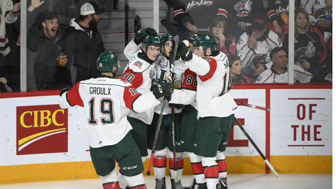 Moran, Groulx lead Mooseheads to berth in Memorial Cup final