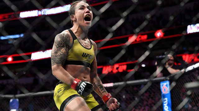ufc-strawweight-jessica-andrade-reacts-to-win