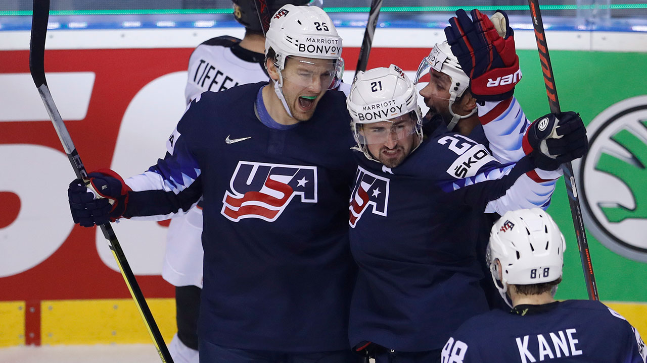U.S. tops Germany for fifth win in row at world championship