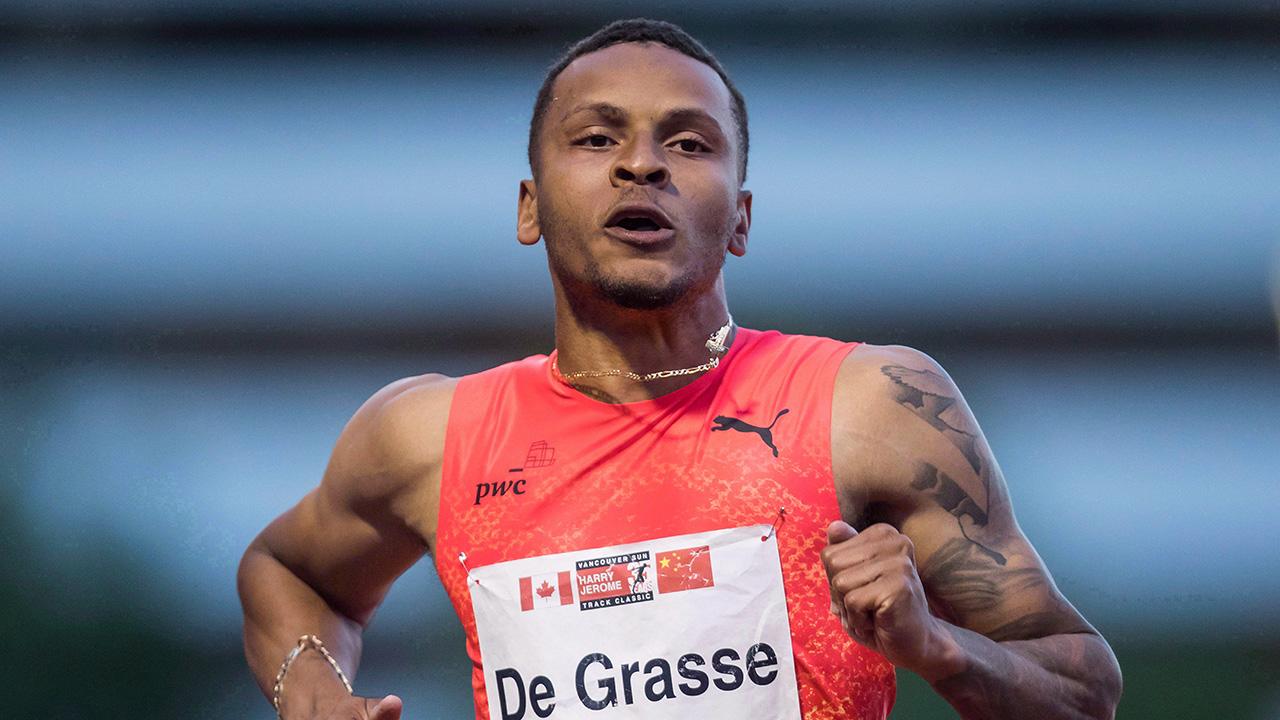 Canadian sprinter Andre De Grasse wins 200-metre Diamond League race - Sportsnet.ca