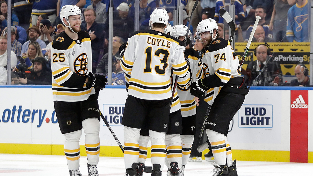 And then there was one. Bruins maul Blues to force a Game 7 for the Stanley Cup