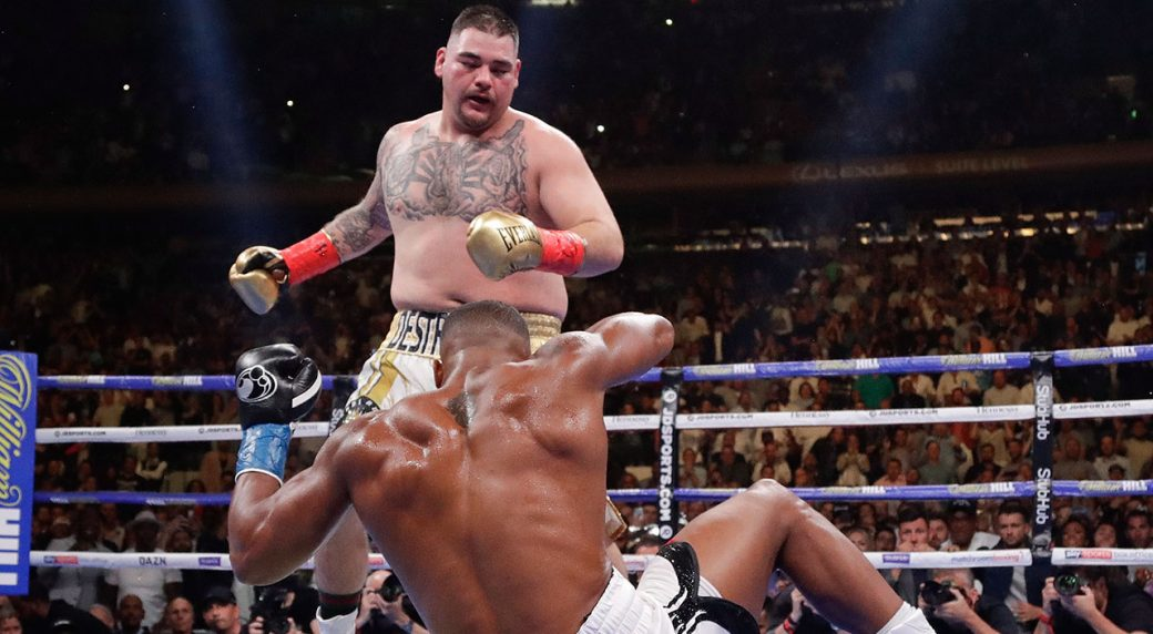 Image result for anthony joshua andy ruiz 2019