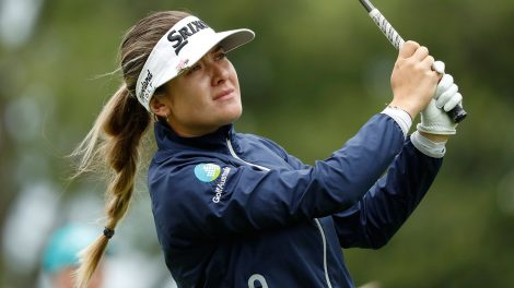Golf-LPGA-Green-hits-shot
