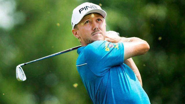 Golf-PGA-Hughes-watches-shot