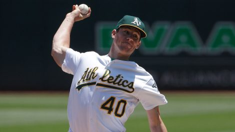 MLB-Athletics-Bassitt-throws-against-Orioles