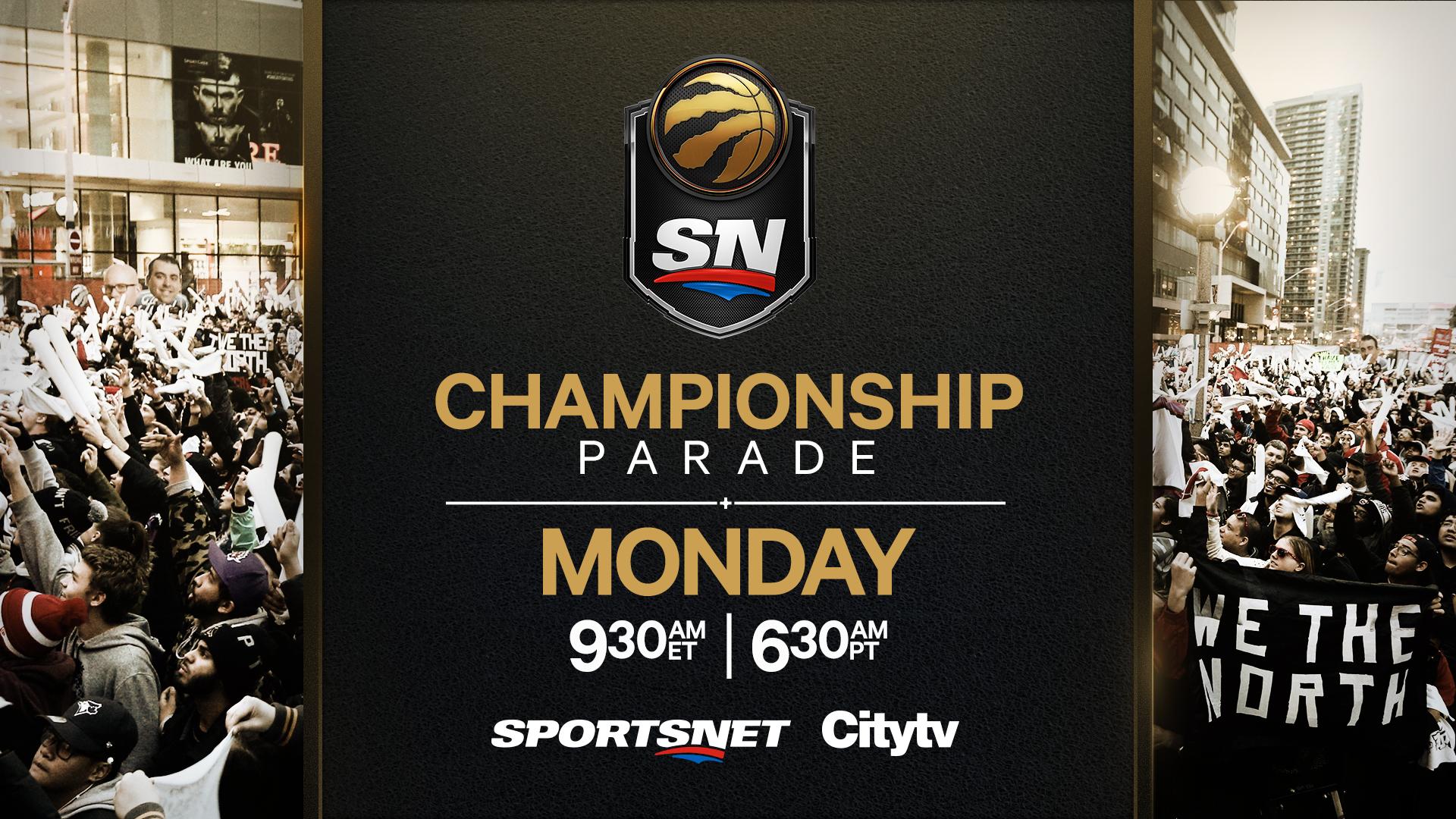 Watch Live: Toronto Raptors NBA Championship Parade - Sportsnet.ca