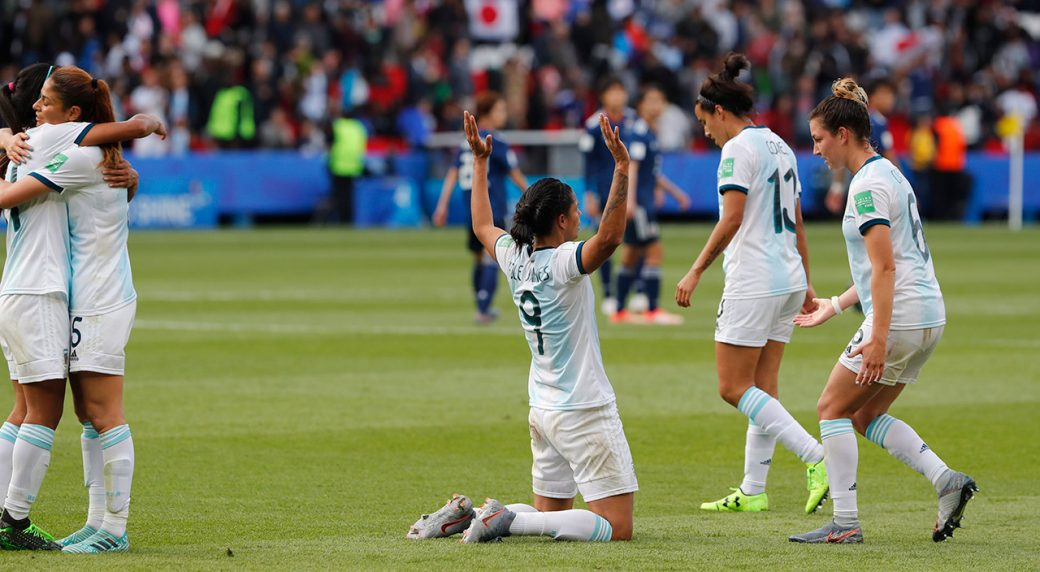 Argentina earn first World Cup point with Japan draw