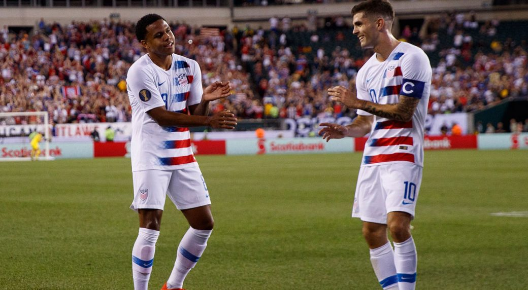 McKennie, Pulisic lead USMNT over Jamaica to Gold Cup final